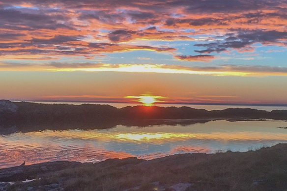 sunset t Torsvag